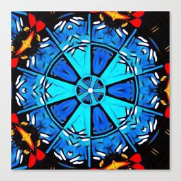 Inspirational Abstract Mandala Canvas Print
