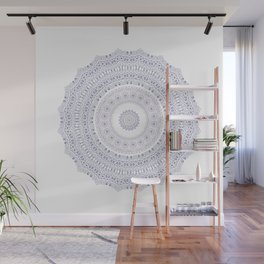 Frosted Little Flowers Wall Mural