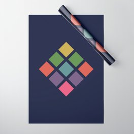 Retro Rocket 36 Wrapping Paper