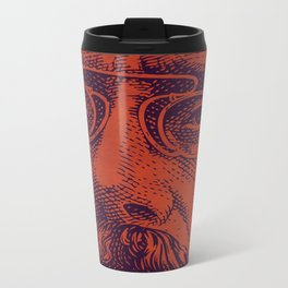 Face Metal Travel Mug