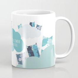Cat Clowder Coffee Mug