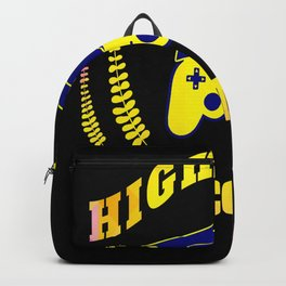High school 2020 Abi graduation cartoon Backpack