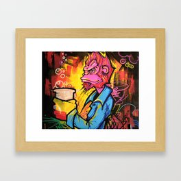 Monkey Bizness Framed Art Print
