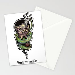 Insanity n Art's I Scream For Bacon. Stationery Cards