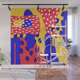 organic shapes one Wall Mural