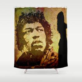 VOODOO CHILD Shower Curtain