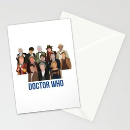 Doctor Who Through the Years Stationery Cards