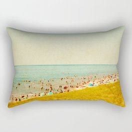 The Last Day of Summer Rectangular Pillow