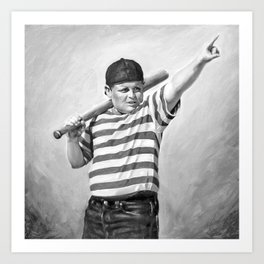 The Great Hambino Art Print