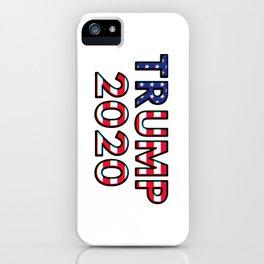 Donald Trump 2020 presidential campaign iPhone Case