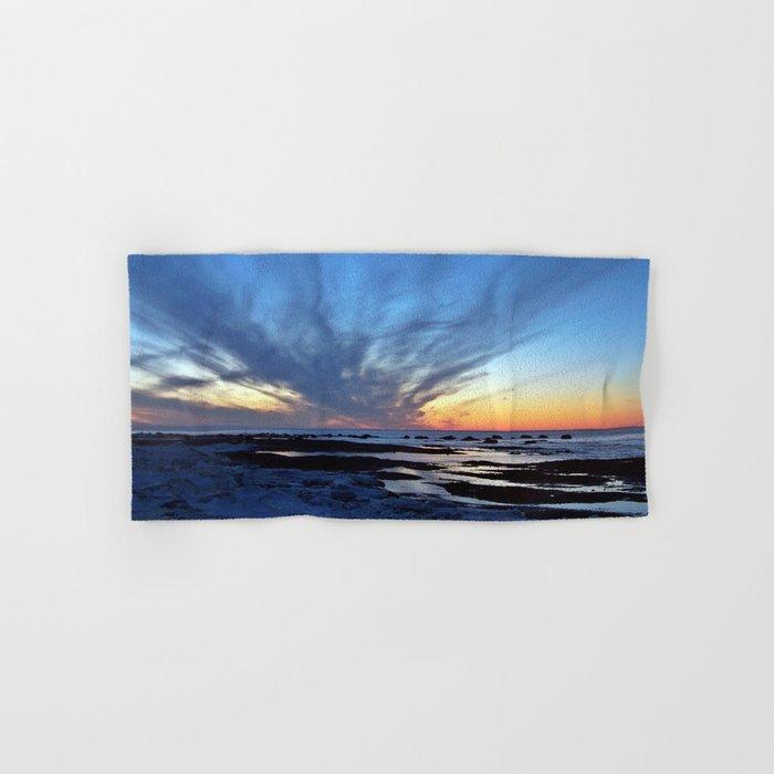 Cloud Streaks at Sunset Hand & Bath Towel