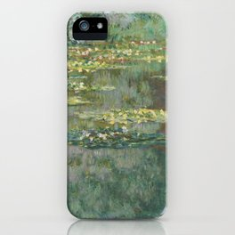 Water Lily Pond Claude Monet iPhone Case