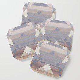 Pyramid Sun Fog Coaster
