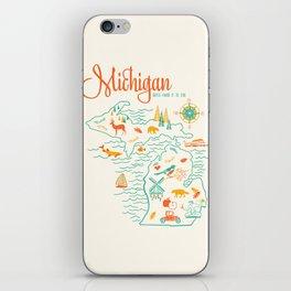 Michigan State Love  iPhone Skin