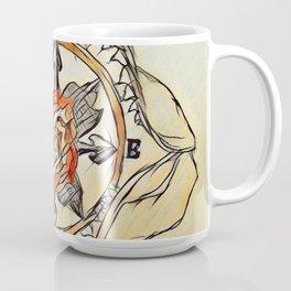 Shark Jaw Rose Compass Mug