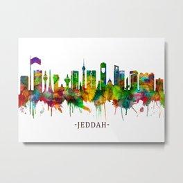 Jeddah Saudi Arabia Skyline Metal Print