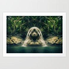Kaleidoscape: Finca Paraíso Art Print