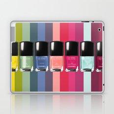 C-H-A-N-E-L Designer Nail Polish Print Laptop & iPad Skin