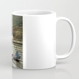 Staithes From The Harbour. Coffee Mug