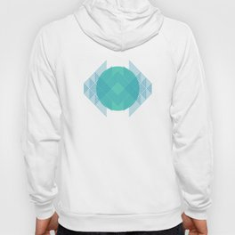 WITHOUT YOU I'D FALL APART - YELLOW/TURQUOISE Hoody