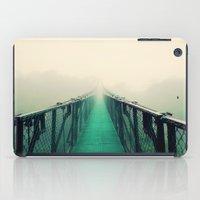 bridge iPad Cases featuring suspension bridge by Sookie Endo