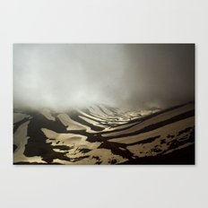 snow valley Canvas Print
