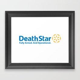 DeathStar Framed Art Print