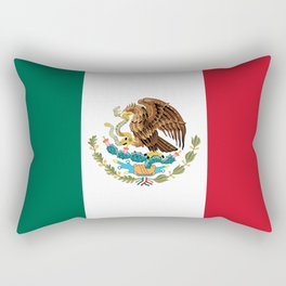 Flag of Mexico - Authentic Scale and Color (HD image) Rectangular Pillow