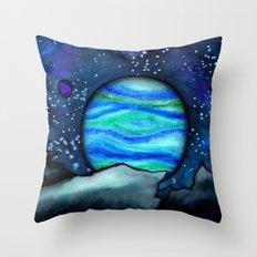 Celestial Landscape Throw Pillow
