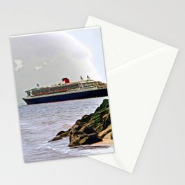 Three Queens on the River Stationery Cards
