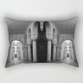 Corridors of confusion Rectangular Pillow