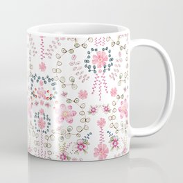 BABYLON~ Floral Trail Watercolor Coffee Mug