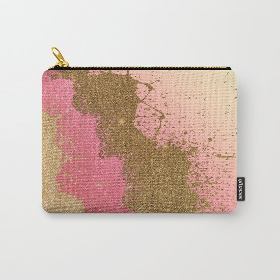 Golden pink shadows Carry-All Pouch