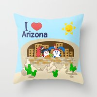 coraline Throw Pillows featuring Ernest and Coraline | I love  by Hisame Artwork