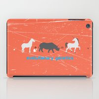 evolution iPad Cases featuring Evolution by Tony Vazquez