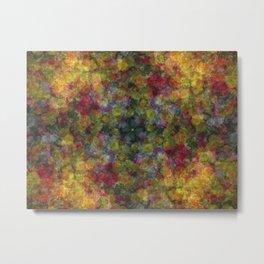 Floral Patchwork Metal Print