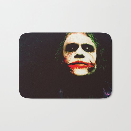 The Joker Bath Mat