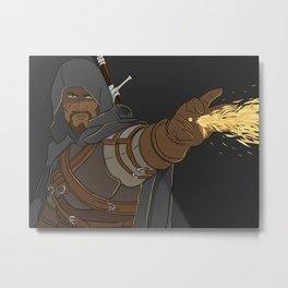 Witcher Gabe Metal Print