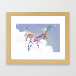 Today's youth Framed Art Print