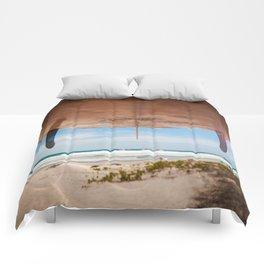 Let's Go Surfing Comforters