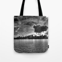 gotham Tote Bags featuring Gotham by Sonic Highlark