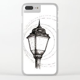 Streetlamp Clear iPhone Case