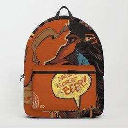 Beer & Monkey Backpack