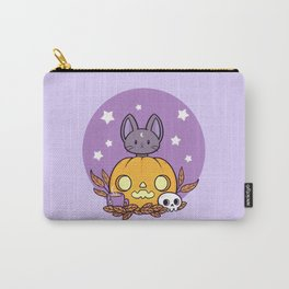 Pumpkin Cats Son Carry-All Pouch