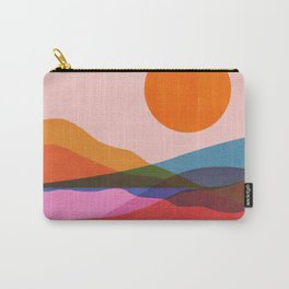 Abstraction_OCEAN_Beach_Minimalism_001 Carry-All Pouch