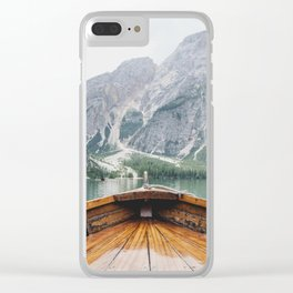 Live the Adventure Clear iPhone Case