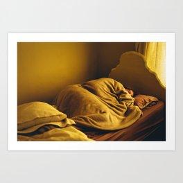 Leave Me Alone I'm Sleeping Art Print