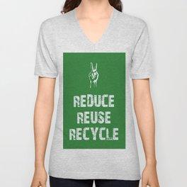 Reduce... Unisex V-Neck