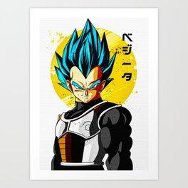 DBZ Art Print