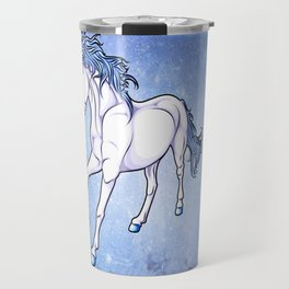 The Unicorn Colored Travel Mug